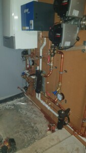 commercial boiler installation - The Quinta Ace from Remeha
